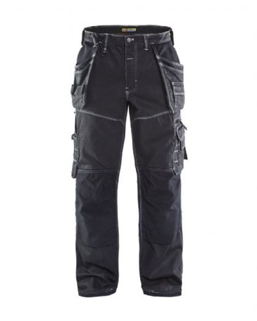 Blaklader 1960 Cordura Denim Craftsman Trousers 19601140 (Black)